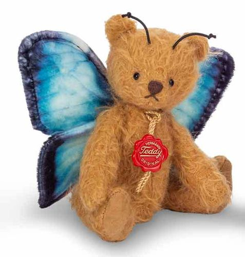Teddy Schmetterling blau 117490 v. Teddy Hermann