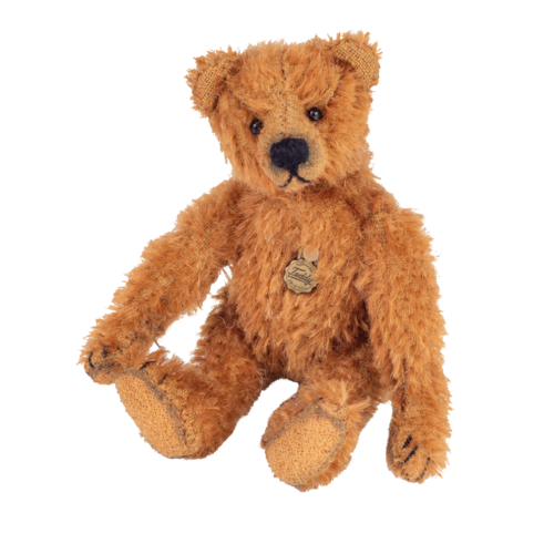 Teddy Antikbär dunkelbraun 154648 v. Teddy Hermann
